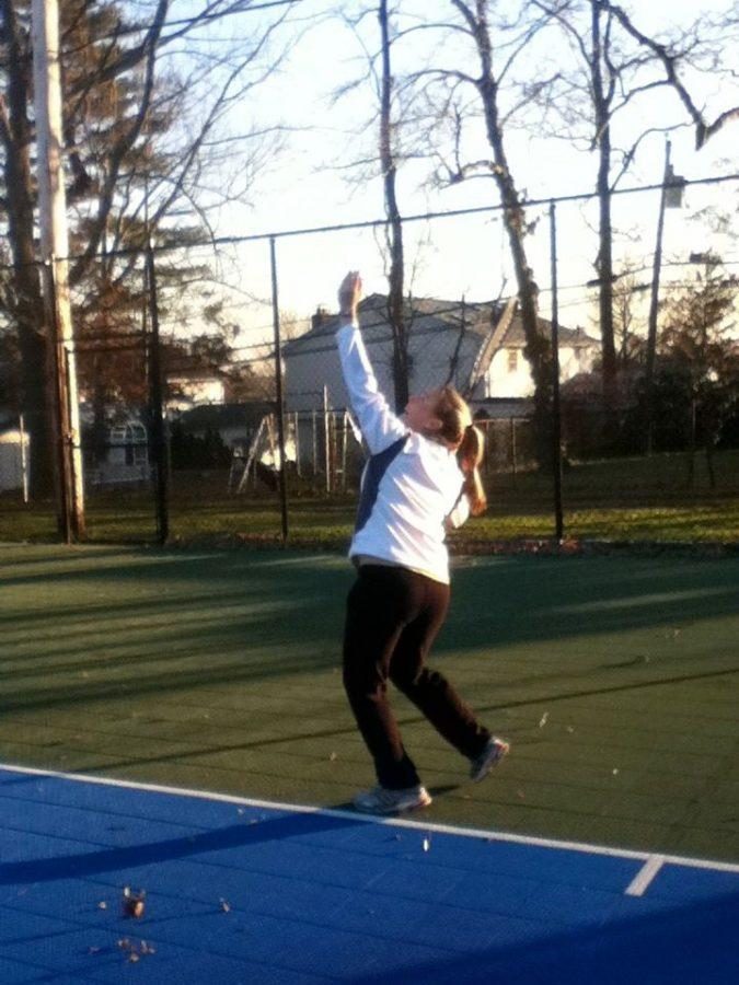 Torres+Takes+On+Tennis%3A+Dedication+Leads+To+Success