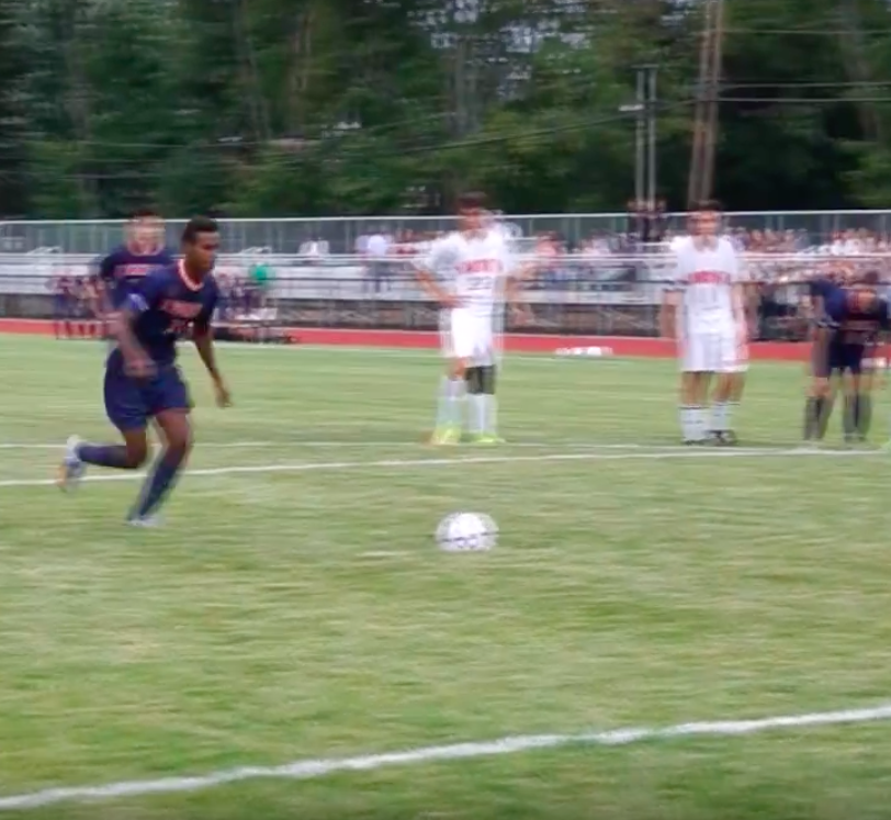 South Varsity Soccer Boys win big on rival turf